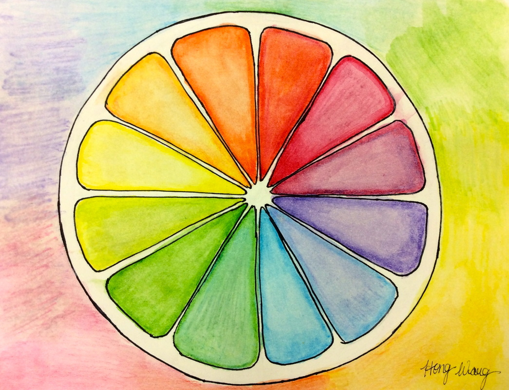 Creative Color Wheel Delectable Advanced A Creative Color Wheel  Weaver Art Decorating Design